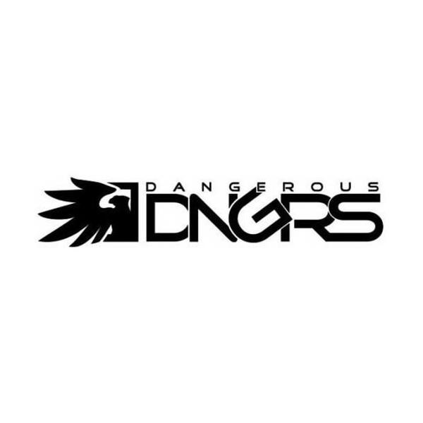 Dangerous DNGRS Classic Logo Sweat Suit Black