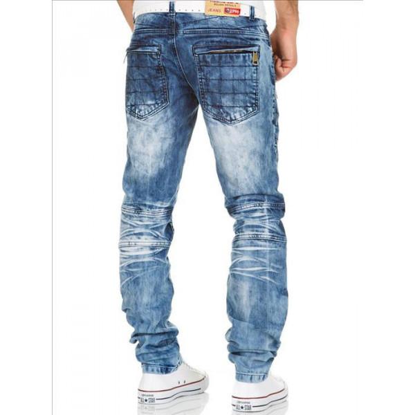 KOSMO LUPO kalhoty pánské KM132 jeas džíny