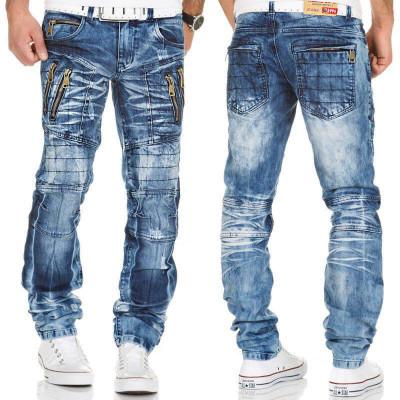 KOSMO LUPO kalhoty pánské KM134 jeans džíny