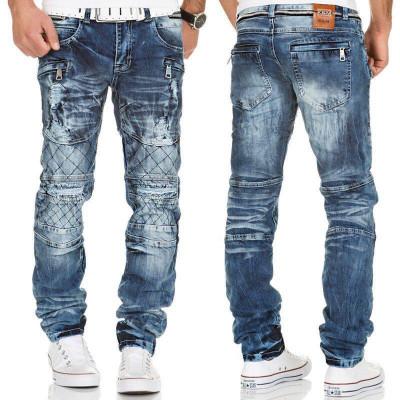 KOSMO LUPO kalhoty pánské KM146 jeas džíny