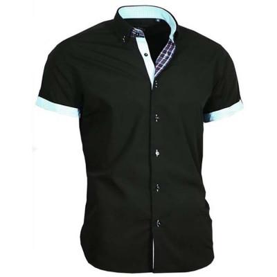 BINDER DE LUXE košile pánská 83313 krátký rukáv