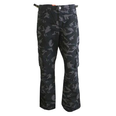 ST. LEONF kalhoty pánské DS18-3 kapsáče nadměrná velikost maskáče