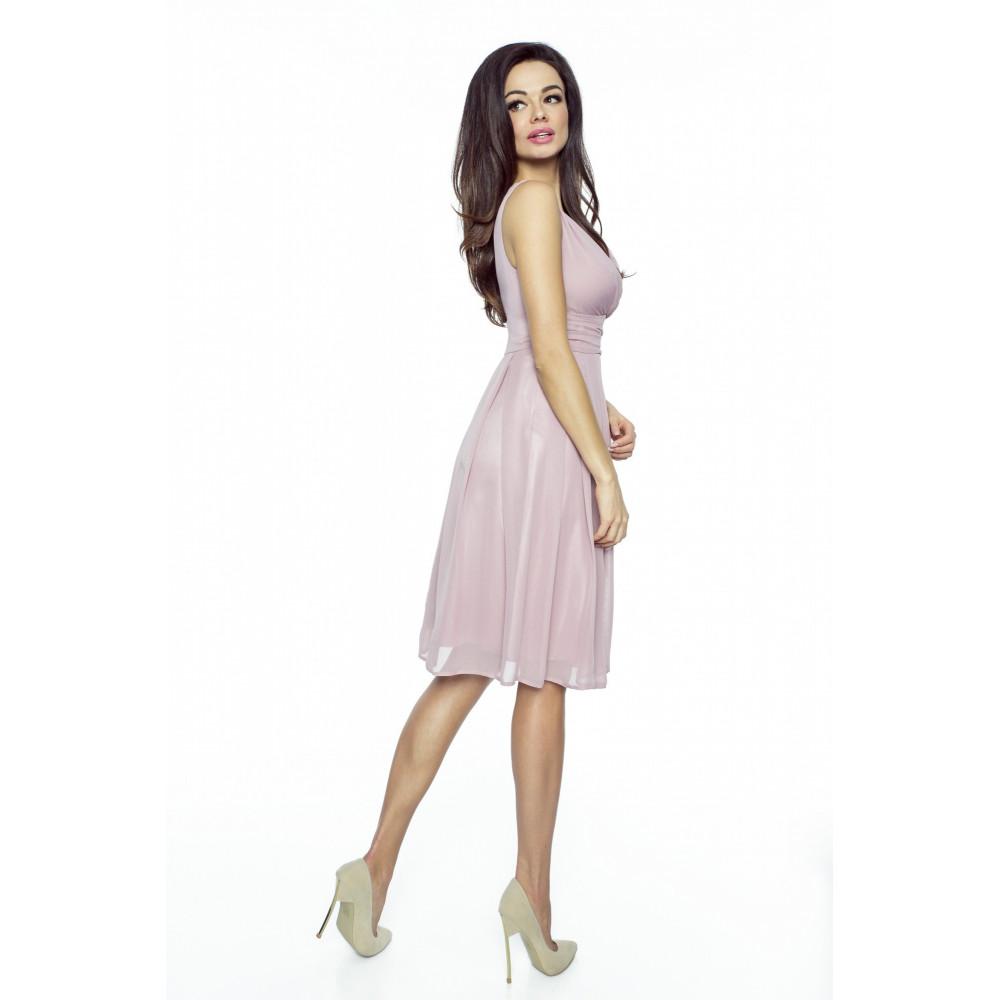 665c897baaf KARTES MODA šaty dámské KM117 šifon obálkový výstřih - DG-SHOP.CZ