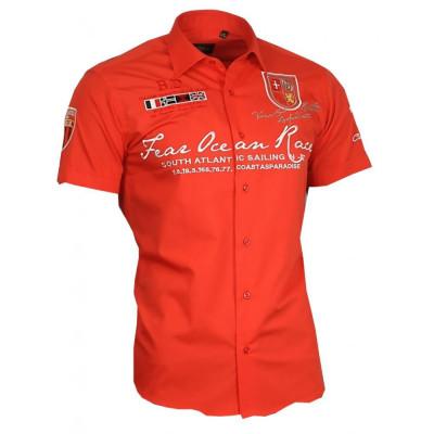 BINDER DE LUXE košile pánská 80604 krátký rukáv