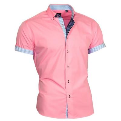 BINDER DE LUXE košile pánská 83303 krátký rukáv