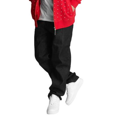 Ecko Unltd. kalhoty pánské Hooth Simple Loose Fit Jeans Black