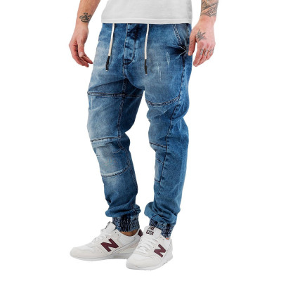 Just Rhyse Cool Anti Fit Jeans Medium Blue