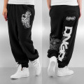 Dangerous DNGRS kalhoty dámské Logo Sweatpants Black tepláky