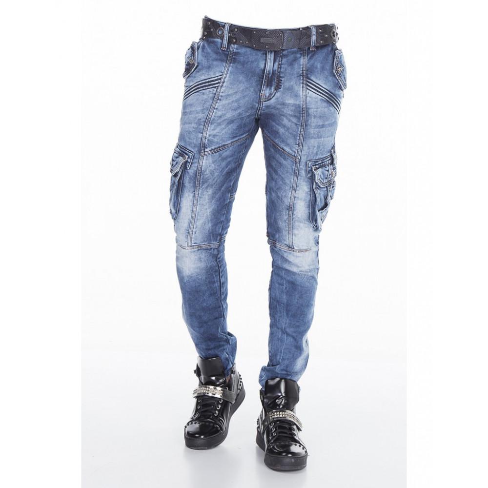 CIPO   BAXX kalhoty pánské CD383 kapsáče jeans - DG-SHOP.CZ c9e8ddfe23