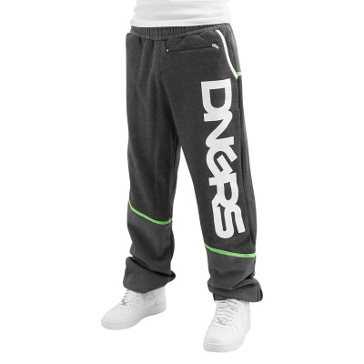 Dangerous DNGRS / Sweat Pant Crosshair in gray