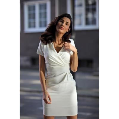 KARTES MODA šaty dámské KM56-3 obálkový výstřih