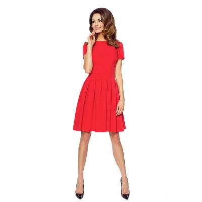 KARTES MODA šaty dámské KM127-1 červené