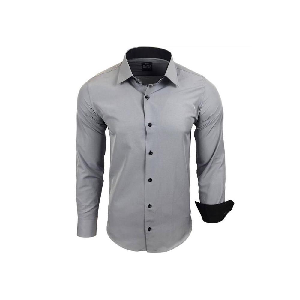 bef2f55386f RUSTY NEAL košile pánská R-44 dlouhý rukáv slim fit - DG-SHOP.CZ