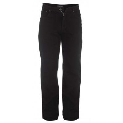 ROCKFORD kalhoty pánské COMFORT BLACK L32 Jeans nadměrná velikost