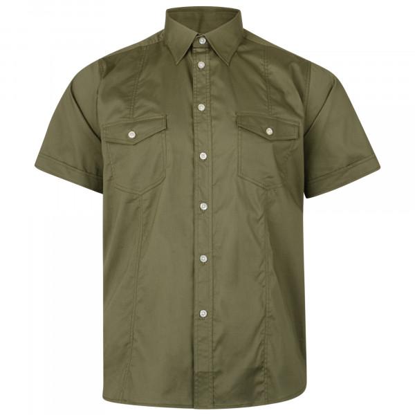 KAM košile pánská KBS 6180 krátký rukáv nadměrná velikost