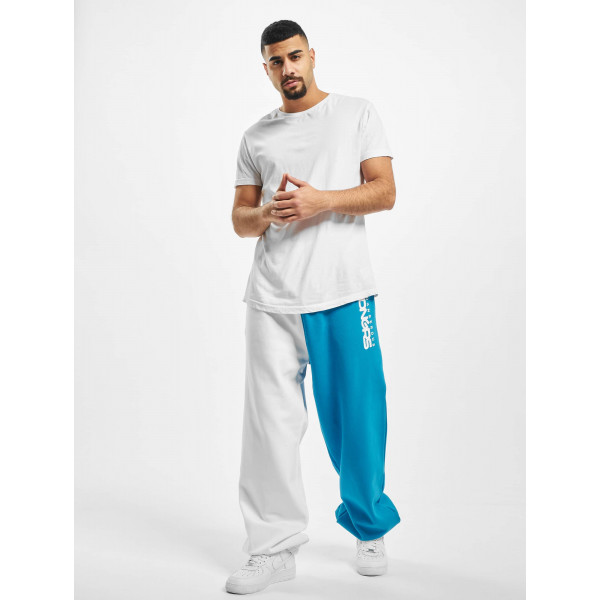 Dangerous DNGRS / Sweat Pant Two-Face in white