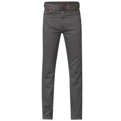 DUKE kalhoty pánské BRIAN s páskem nadměrná velikost