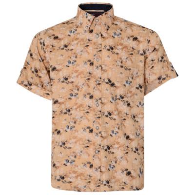 KAM košile pánská KBS 6190 krátký rukáv nadměrná velikost