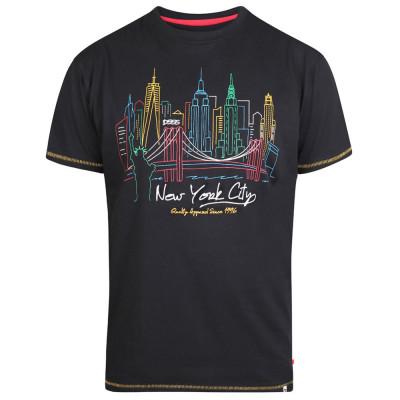 D555 tričko pánské SHELBY nadměrná velikost