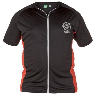 D555 tričko pánské SIMPSON cyklo za zip nadměrná velikost