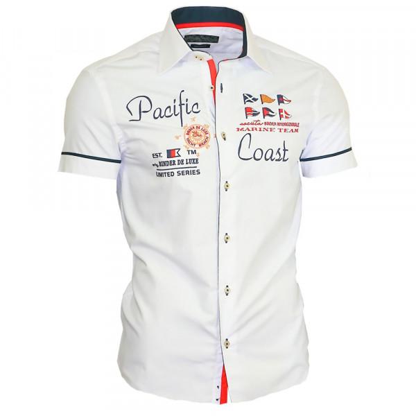 BINDER DE LUXE košile pánská 82001 krátký rukáv