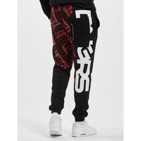 Dangerous DNGRS / Sweat Pant CBrick in black