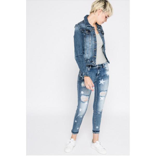 ITAIMASKA bunda dámska HS-3035 riflová jeansová džíska