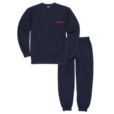 ADAMO pyžamo pánské BRIANrozepínací nadměrná velikost