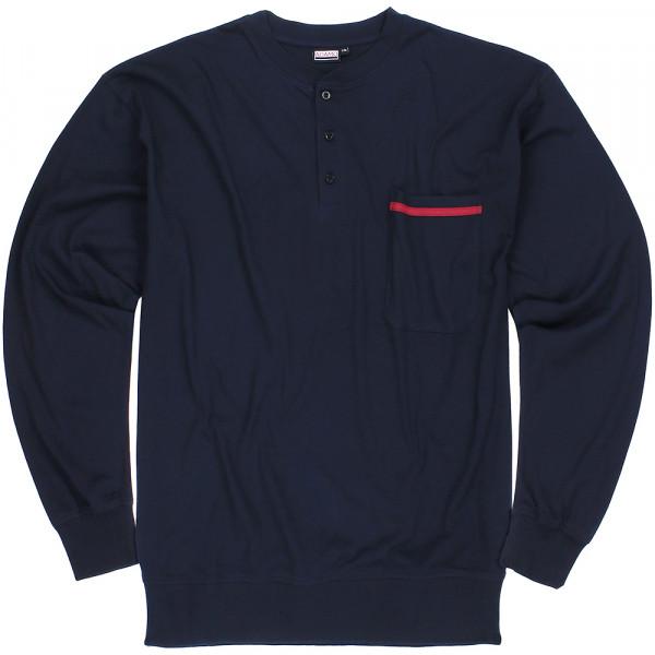 ADAMO pyžam pánské BRIANrozepínací nadměrná velikost