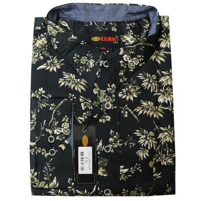 KAMRO košile pánská 276-23614 nadměrná velikost 100ˇ% bavlna