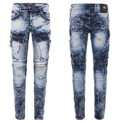 CIPO & BAXX kalhoty pánské CD494 L:34 regular slim