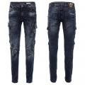 CIPO & BAXX kalhoty pánské CD440 L:34 slim fit
