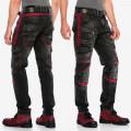 CIPO & BAXX kalhoty pánské CD561 black L32