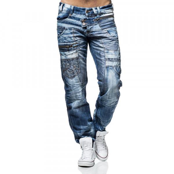 KOSMO LUPO kalhoty pánské KM010 džíny jeans
