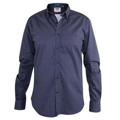 D555 košile pánská BARKER dlouhý rukáv nadměrná velikost