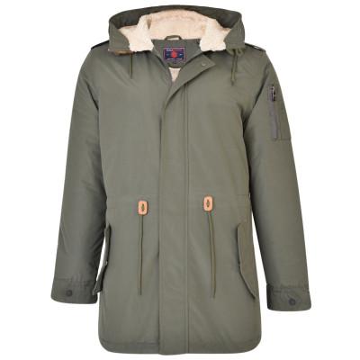 KAM bunda pánská KBS KV112 nadměrná velikost zimní kabát