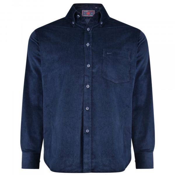 KAM košile pánská KBS 6195 LS nadměrná velikost