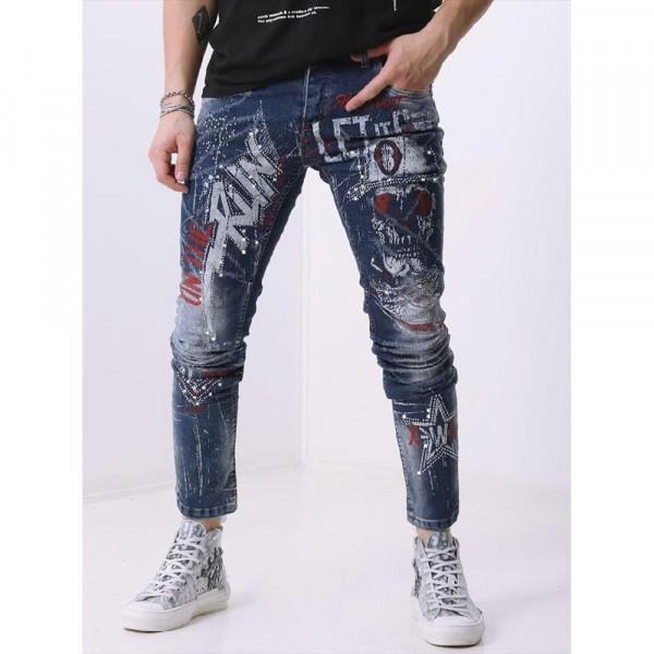 X WAY kalhoty pánské 6102 jeans