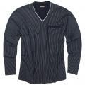 ADAMO pyžamo pánské GUSTAV 360 nadměrná velikost dlouhý rukáv