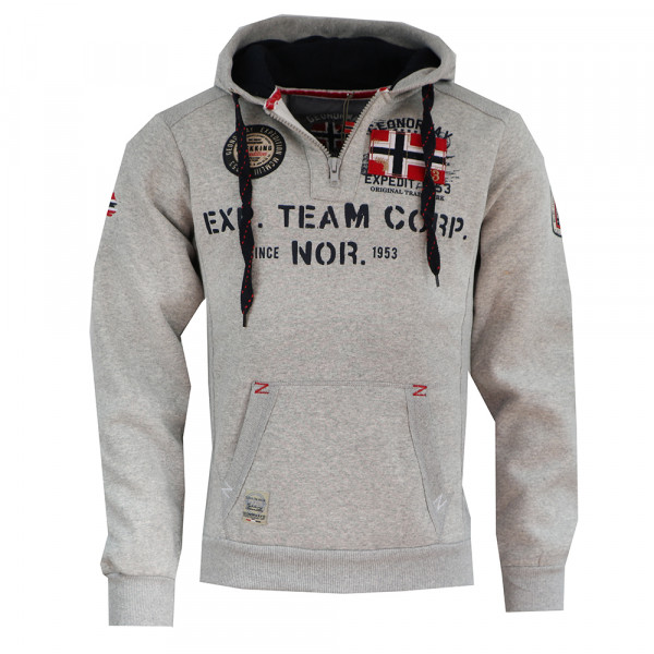 GEOGRAPHICAL NORWAY mikina pánská GOPTAINE MEN 100 EO