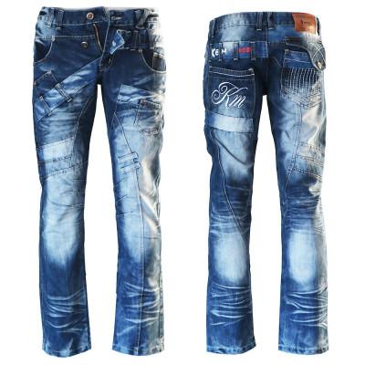 KOSMO LUPO kalhoty pánské KM030 džíny jeans