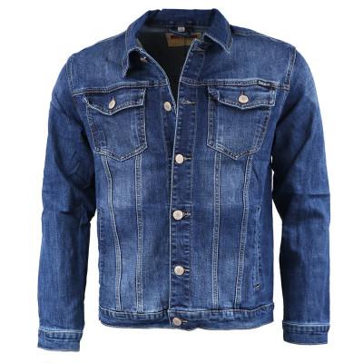 MOCK-UP bunda pánská 8059 džíska riflová