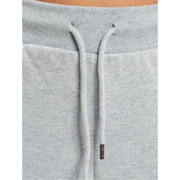 Dangerous DNGRS kalhoty dámské Wintersweat Sweatpants Grey Melange Off White tepláky