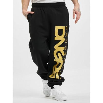 Dangerous DNGRS kalhoty pánské Sweat Pant Classic in black