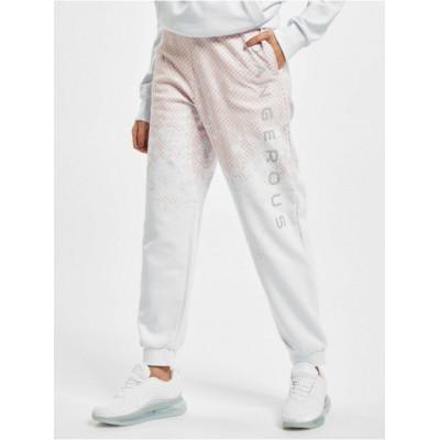 Dangerous DNGRS kalhoty dámské Fawn Sweatpants White Rose