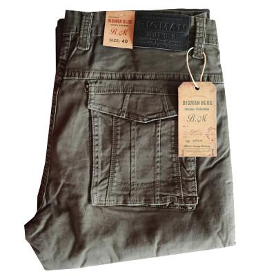 BIGMAN kalhoty pánské HD992-4 kapsáče nadměrná velikost