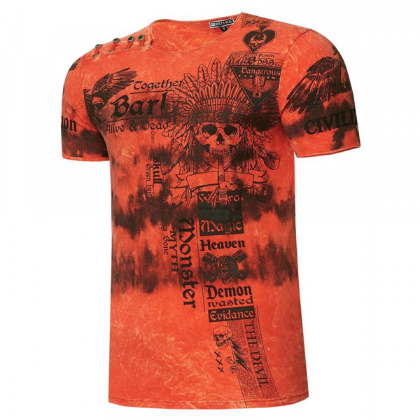 RUSTY NEAL tričko pánské 15265 regular fit