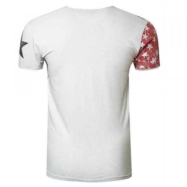 RUSTY NEAL tričko pánské 27920 regular fit
