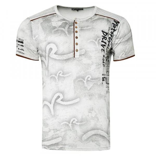 RUSTY NEAL tričko pánské 15246 regular fit