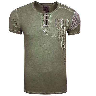 RUSTY NEAL tričko pánské 6784 regular fit